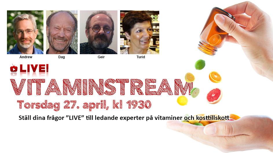 VitaminStream 27 april 2017