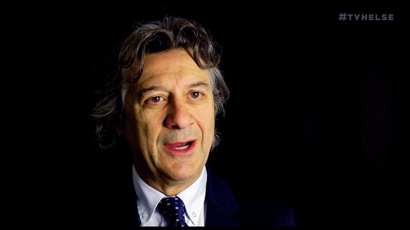 Professor Alessio Fasano - Foto: TV Helse.no