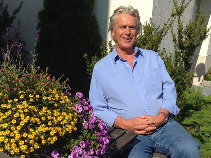 Per Høst fick synen tillbaka med ögonakupunktur - Foto: TV Helse