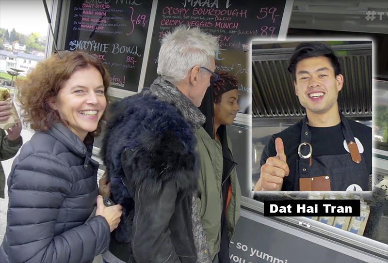 Dat Hai Tran lagar sund thaimat - Foto: Arnt-Olav Enger, TV Helse