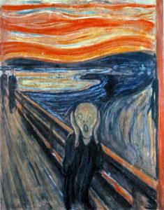 """Edvard Munch """"Skriet"""", 1893"""