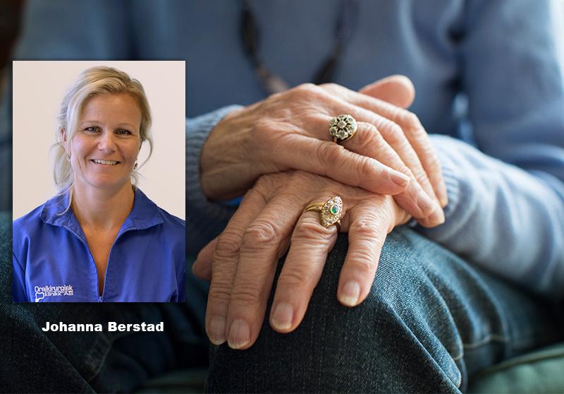 Bild: Johanna Berstad forskar på Parkinsons sjukdom - Foto: AdobeStock och Oralkirurgisk.no