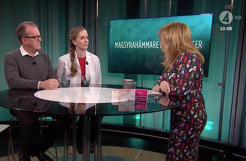 Malou von Sivers tar upp riskerna med magsyrahämmande medicin på TV4