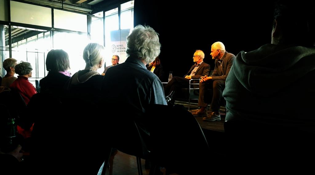 Alternativmedicinens verkan och biverkan - Pi-samtal den 28 mars 2018 på Kulturhuset Stadsteatern, Stockholm - Foto: anonym