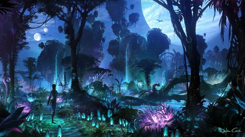 I filmen Avatar är hela skogen ett internet - Image credit: Dylan Cole and The Walt Disney Company