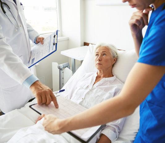 Cancerpatient på ett sjukhus - Foto: Crestock.com