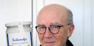 Lars Bern tycker till om kokosolja - Foto och montage: Torbjörn Sassersson, NewsVoice