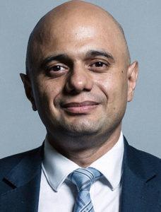 Den brittiska inrikesministern Sajid Javid (2018). Foto: UK Parliament, CC BY 3.0