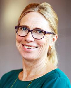 Annica Sohlström, generaldirektör (2016-) på Livsmedelsverket. Pressfoto från Livsmedelsverket.