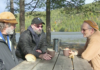 Paul Stamets, Jerry Angelini och Geir Flatabø. Foto: Arnt-Olav Enger, TV Helse Norge