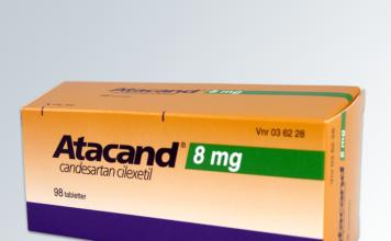 Atacand är ett flera populära läkemedel som innehåller hydroklortiazid. Foto: AstraZeneca. Licens: Creative Common