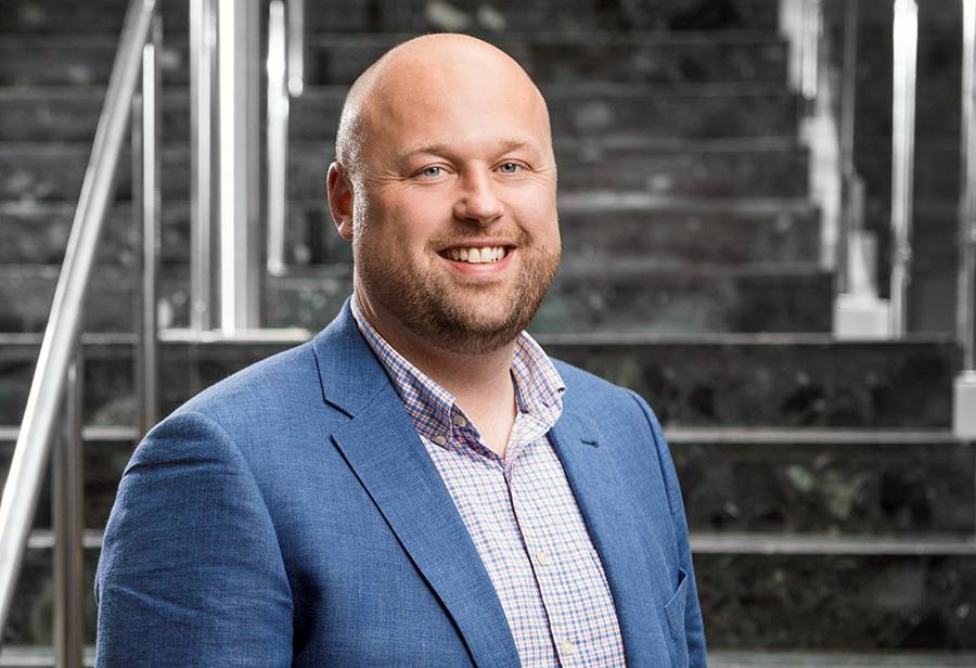 Carl Jarnling, enhetschef på eHälsomyndigheten meddelar om Läkemedelskollen. Pressfoto: eHalsomyndigheten.se