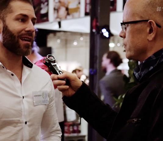 Jacob Hedrich intervjuas av Torbjörn Sassersson den 10 nov 2018. Foto: Mats Gabrielsson