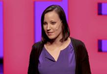 Dina Zielinski - Foto: Ted Talk, 2019, Vienna