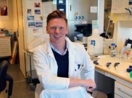 Jan Terje Andersen (division Adaptive Immunity and Homeostasis). Pressfoto: Oslo Universitet