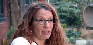 Dr Sue Connely. Foto:Sky News, skärmdump från reportage