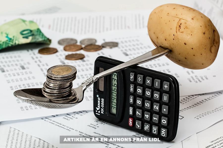 Handla smart och spara pengar på Lidl. Bild: tillhandahållen.