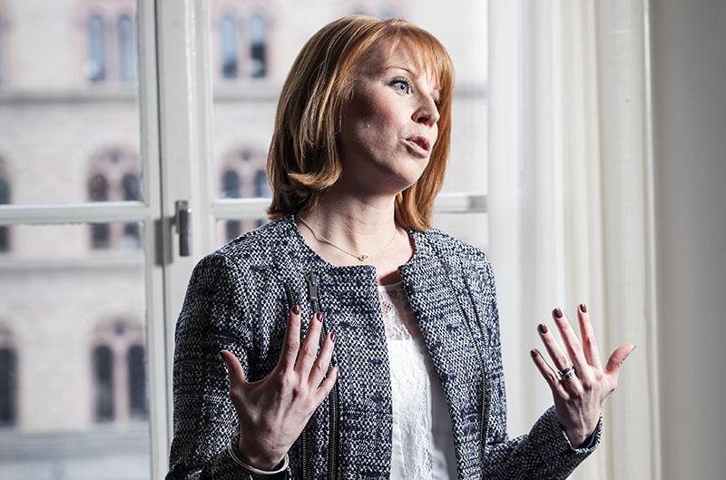 Annie Lööf (2015). Foto: Johan Jeppsson. Centerpartiet @ Flickr.com