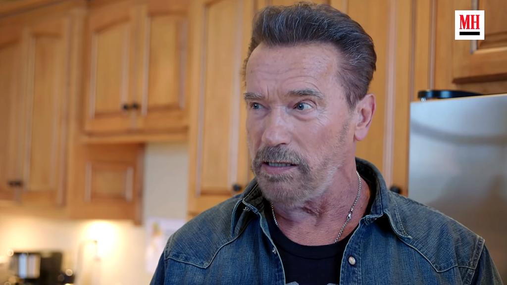 Arnold Schwarzenegger. Foto: MensHealth.com