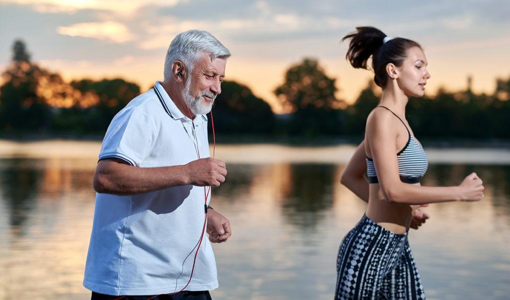 Träna även när du är äldre. Foto: Shutterstock.com
