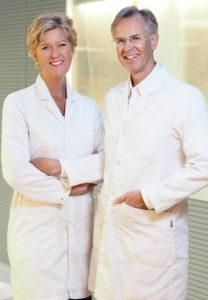 Sofie och Erik Hexeberg berättar om autoimmuna sjukdomar och inflmmationer. Pressfoto.