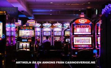 Casino slots. Foto: Benoit Dare. Licens: Unsplash.com