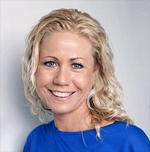 Tine Mejlbo Sundfør granskar barnmat. Foto: Anita-Sælø