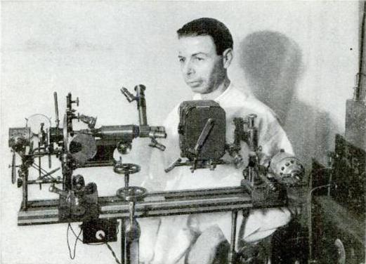 Royal Raymond Rife, juni 1931. Bild från Popular Science Magazine