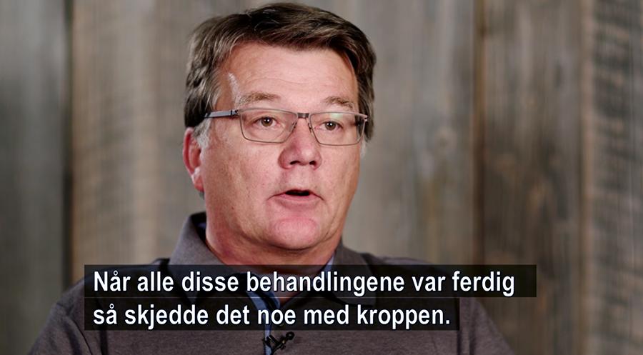 Tor Heimdal. Foto: Arnt-Olav Enger, TV Helse Norge