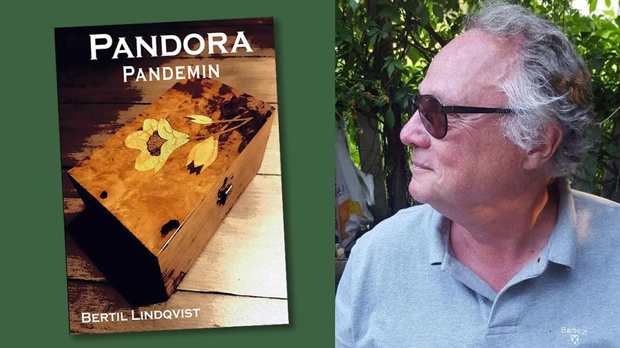 Bertil Lindqvist och boken Pandorapandemin (eventuell nyutgåva av Pandora)