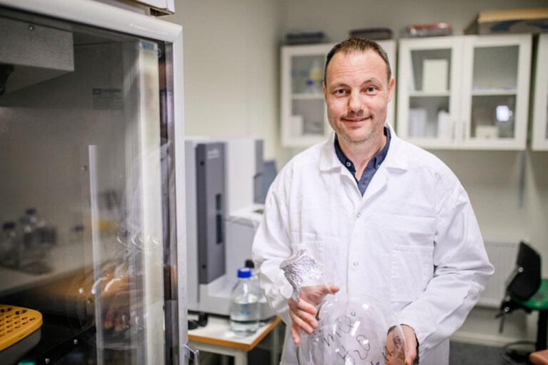Niklas Arnberg. Foto: Mattias Pettersson för Umeå Universitet