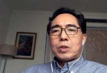 Dr Richard Cheng, 2020 vid China Epidemic Medical Support Team. Foto: own work