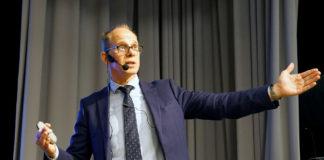 Professor Robert Thomas, 11 mars 2020, ABF Huset, Stockholm. Foto: Torbjörn Sassersson för TV Hälsa