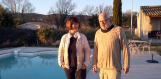 Agneta Schnittger och Ingemar Ljungqvist, Mas Rabassan, februari 2020, Provence. Foto: Torbjörn Sassersson
