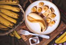 Bananer, naturlig källa till kalium. Foto: Eliv Sonas Aceron Licens: Unsplash