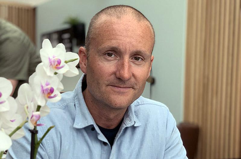 Øyvind Torp, privat foto, cancerpatient och läkare.