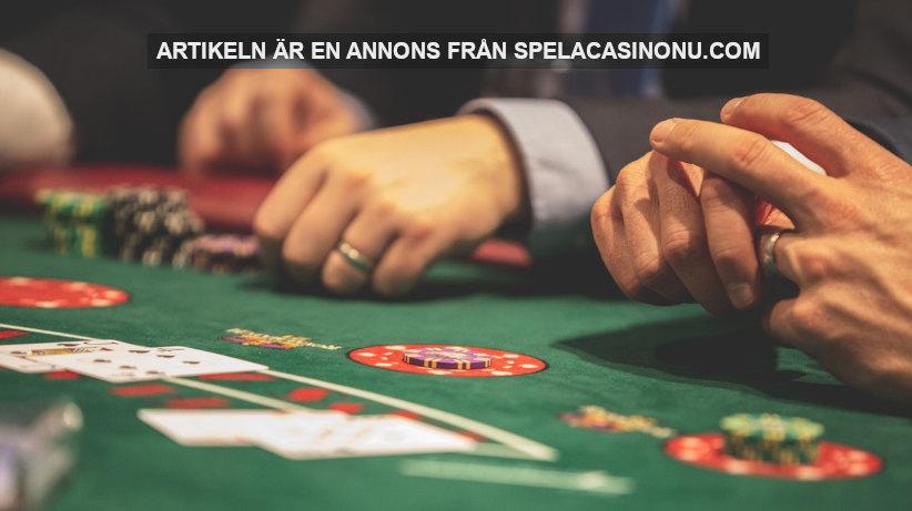 Varför är det så många som spelar casino online? Foto: Drew Rae Licens: Pexels