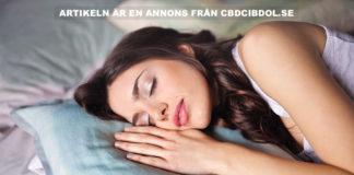 CBD-olja kan hjälpa din sömn och effektiv insomning. Foto: Bruce Mars. Licens: Unsplash.com